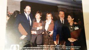 Arturo Altuna, Cristina García, Aquelina Álvarez, Dante Petruccelli, Renée Lopez