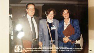E Corio, Laura Rodríguez, Teresita Llopart